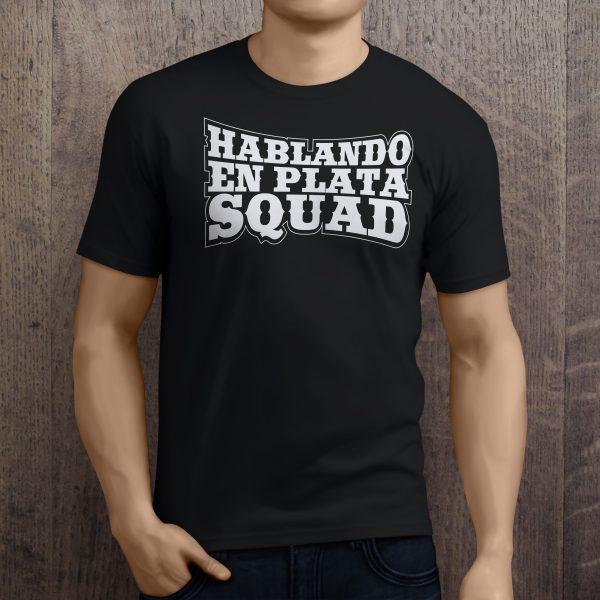 hablando en plata squad lettering